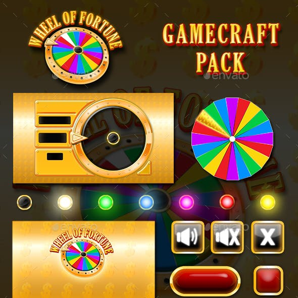 Wheel of Fortune Game Assets