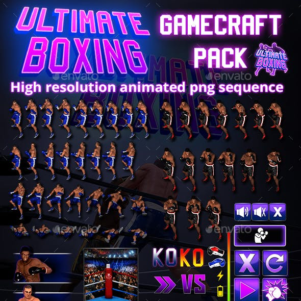 Ultimate Boxing Game Assets