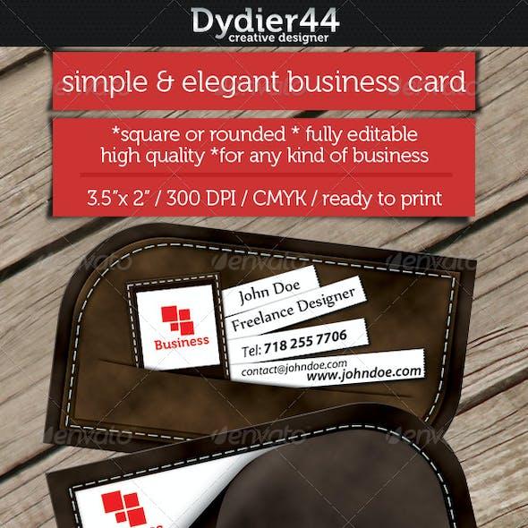 Fresh Textured Card