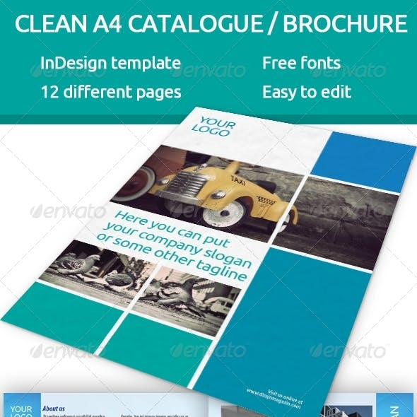 Catalogue - brochure A4 InDesign template