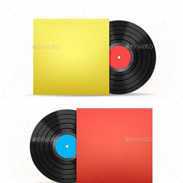 Vinyl Disc and Cover