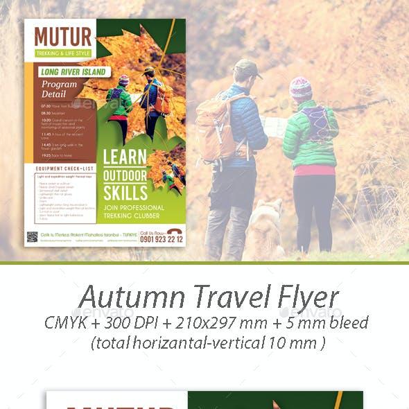 Autumn Travel Flyer
