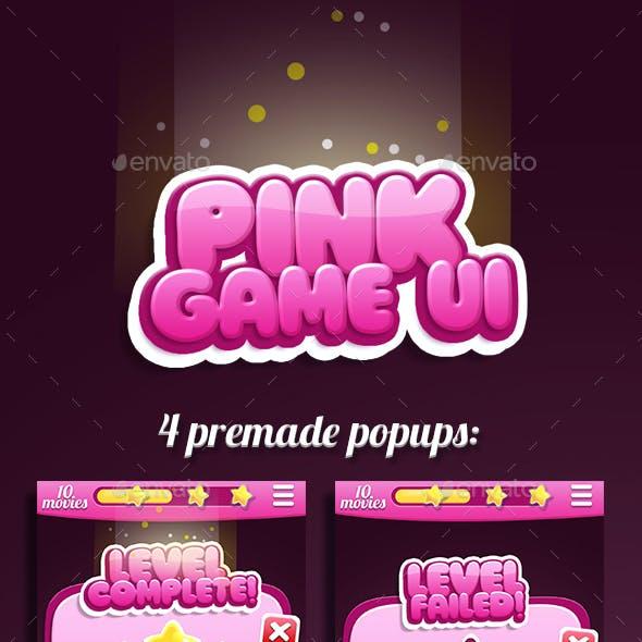 Pink Bubble Gum GUI