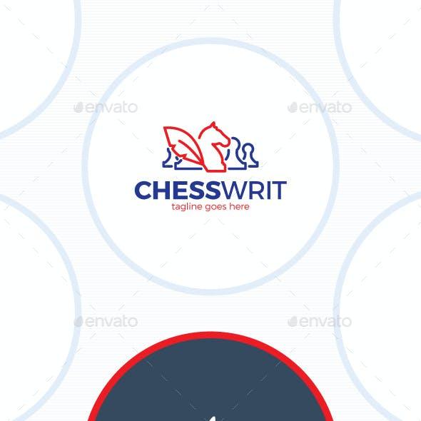 Chess Writer Logo - Feather Blog