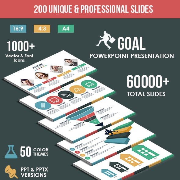 Goal - Multipurpose PowerPoint Template