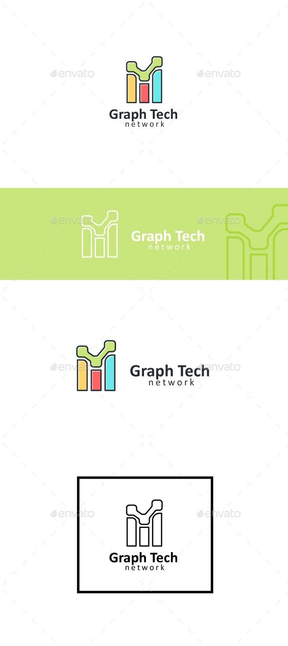 Technology Graph - Symbols Logo Templates