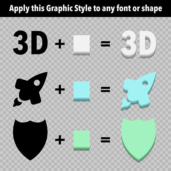 3d Extruder Graphic Style