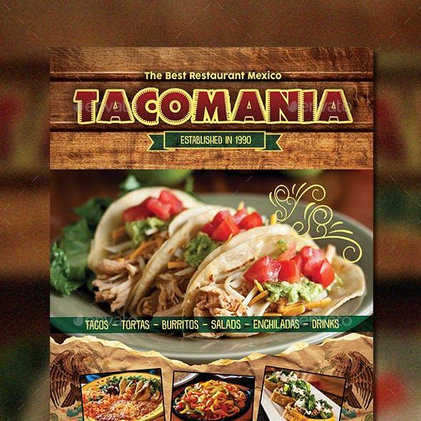Mexican Menu + Business Card