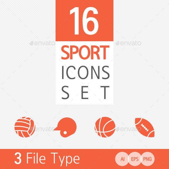 16 Sport Icon Set