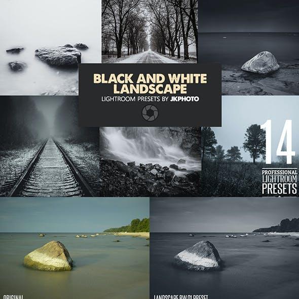 14 Black And White Landscape Lightroom Presets