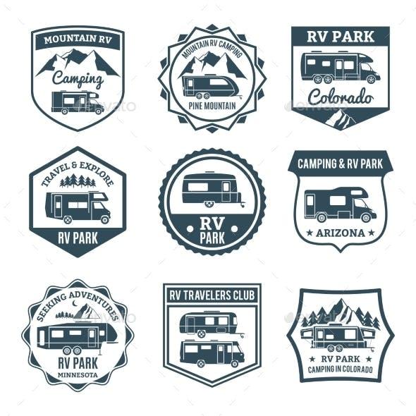 Recreational Vehicle Emblems