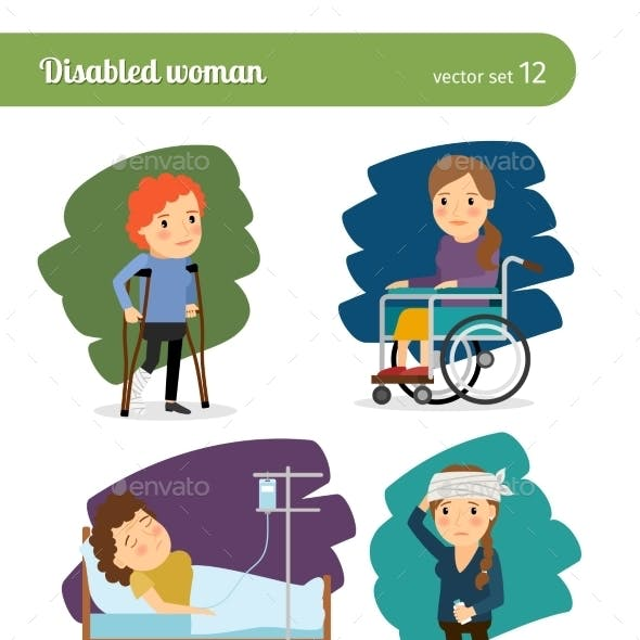 Disabled Woman Characters