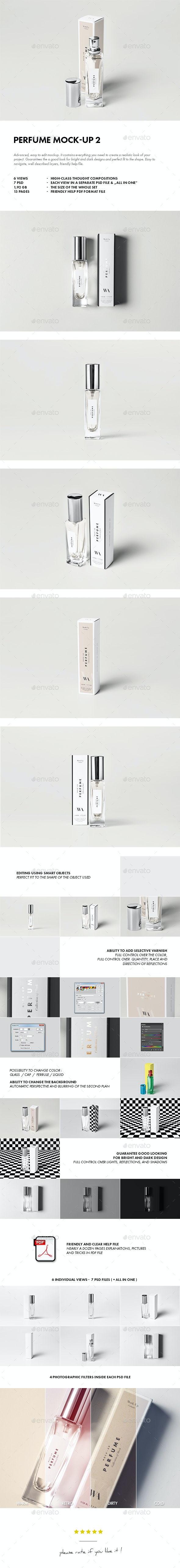 Perfume Mock-up 2 - Beauty Packaging