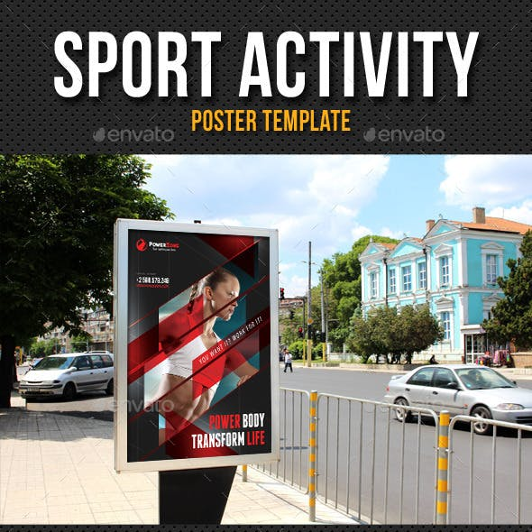 Sport Activity Poster Template V02