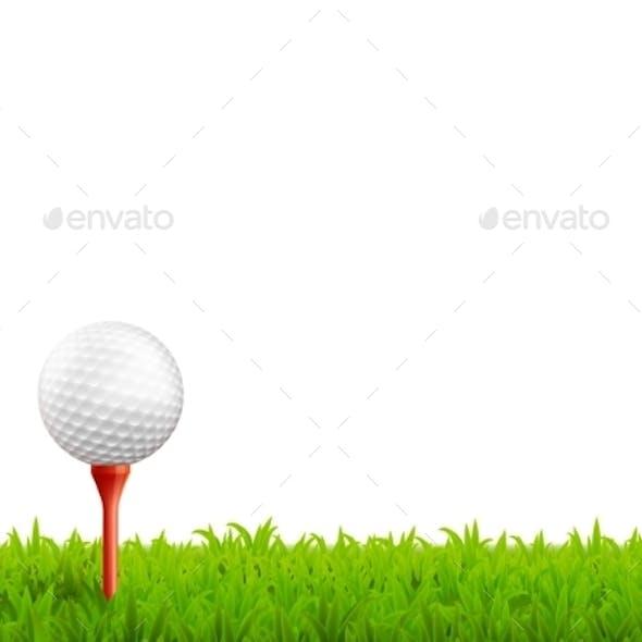Golf Realistic Illustration