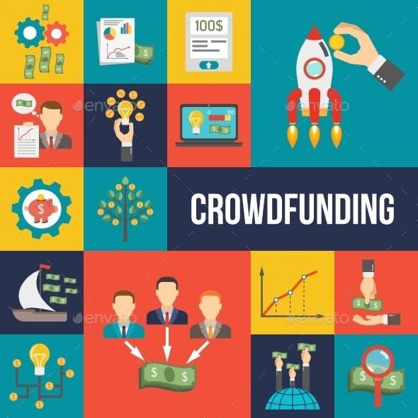 Crowdfunding Flat Set