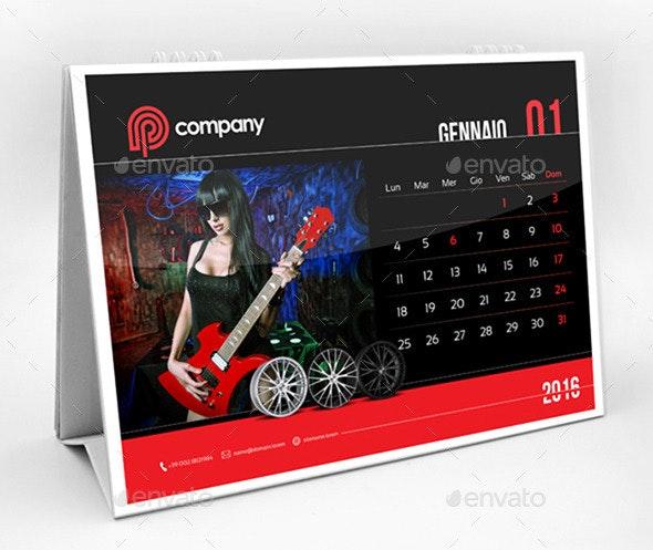 Calendar of Italian Holidays Year 2016 - Calendars Stationery