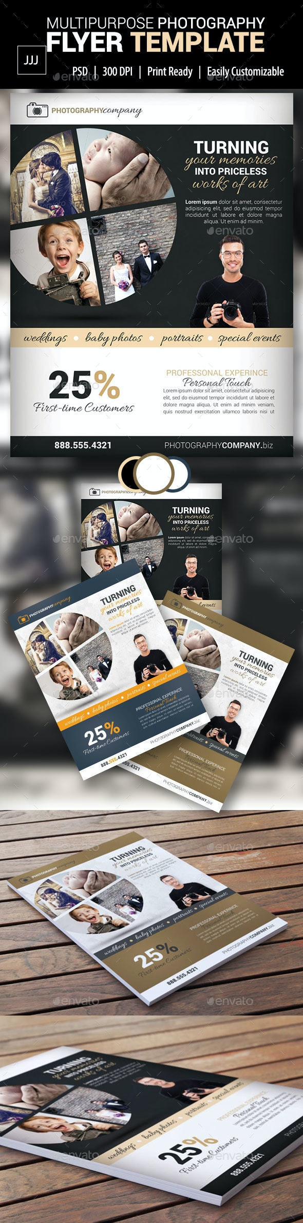 Photography Business Flyer 20 - Corporate Flyers
