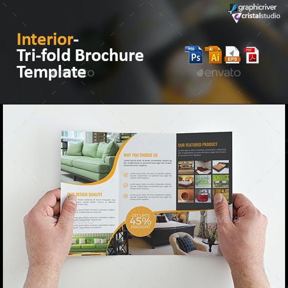 Interior Tri fold Brochure