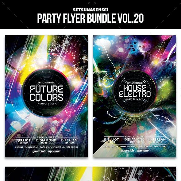 Party Flyer Bundle Vol. 20