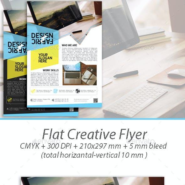 Flat Creative Flyer