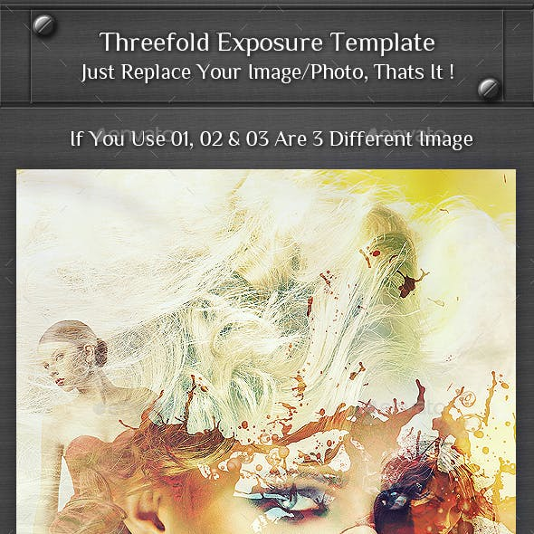 Threefold Exposure Template