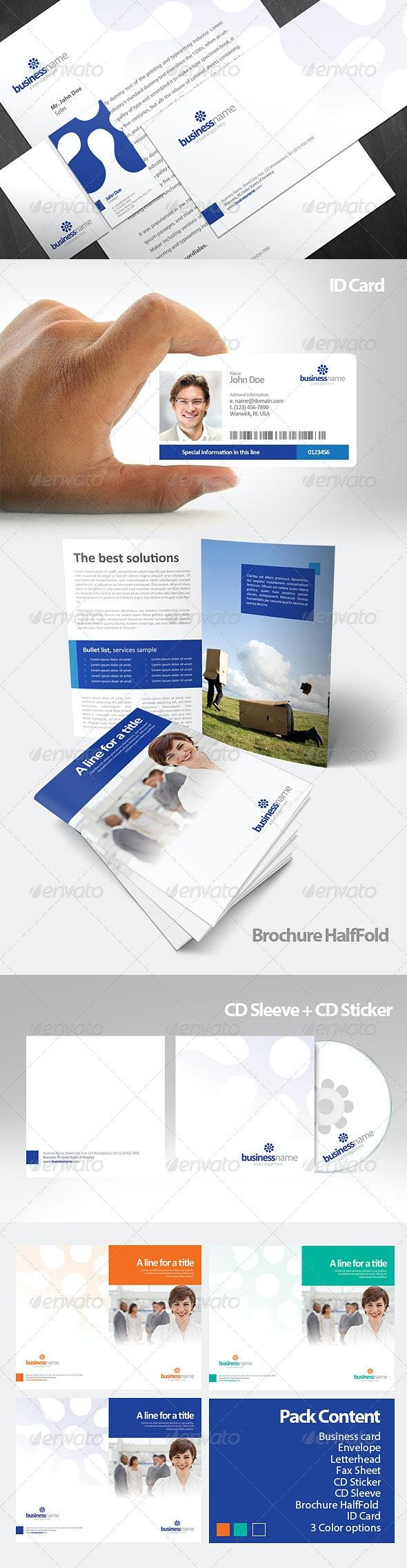 Katra Corporate Identity Pack - Stationery Print Templates