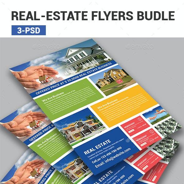 Real Estate Flyers Bundle