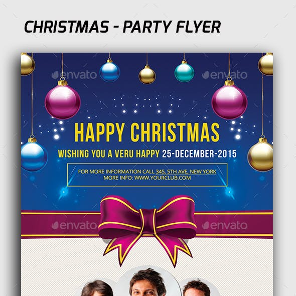Christmas - Flyer Template