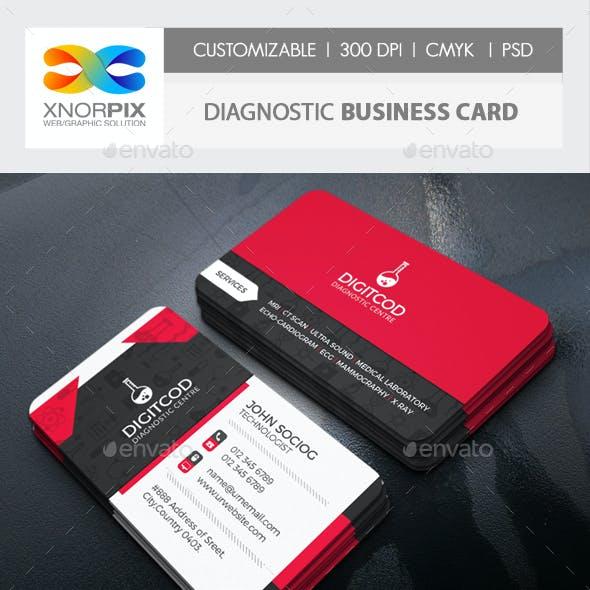 Diagnostic Business Card