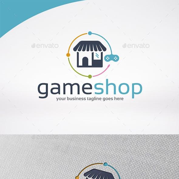 Game Shop Logo Template