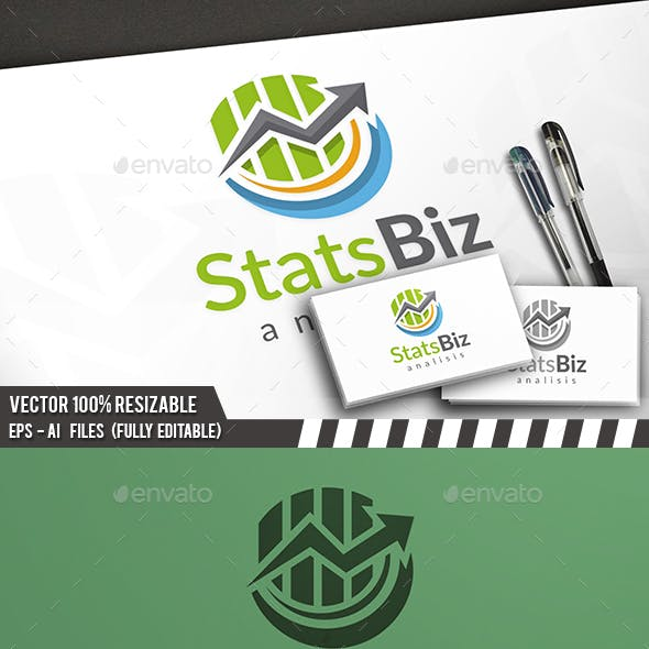 Marketing Stats Logo