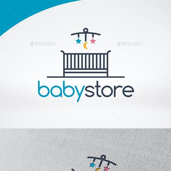 Baby Shop Logo Template
