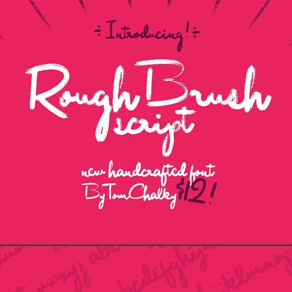 Rough Brush Script