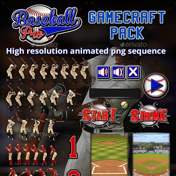 Baseball Pro Game Assets