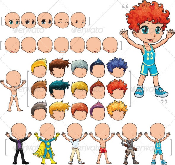 Avatar Boy - People Characters