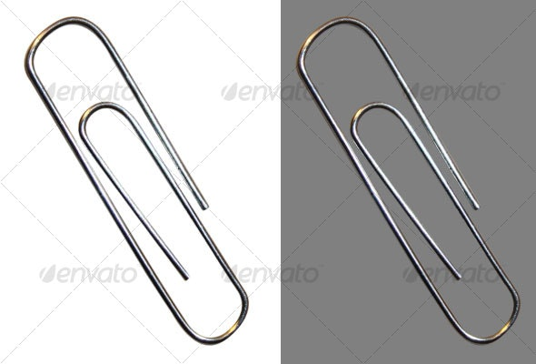 Silver Paperclip