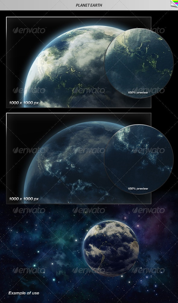Planet Earth - Nature Backgrounds