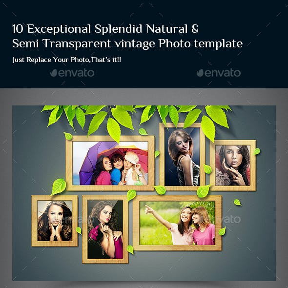 10 Exceptional Natural & Semi Transparent Photo Te