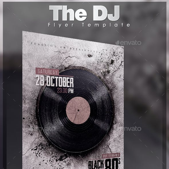 The DJ Flyer Template