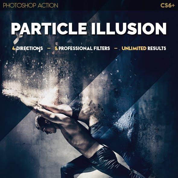 Particle Illusion Photoshop Action