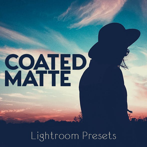 Coated Matte Lightroom Presets