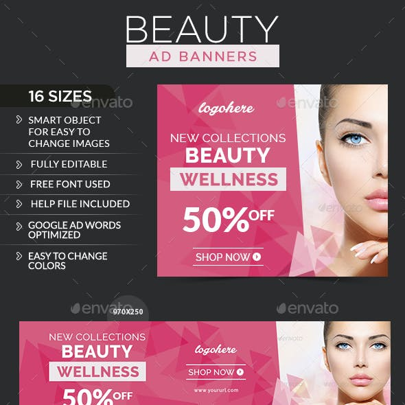 Beauty Care Banners