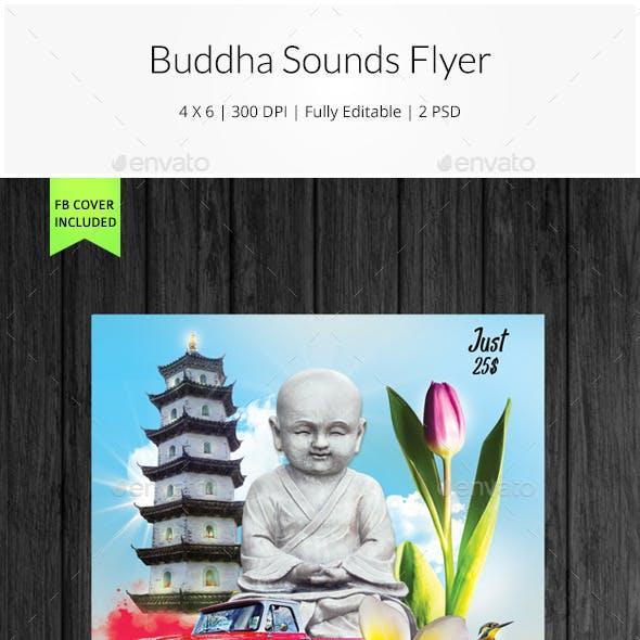 Buddha Sounds Flyer