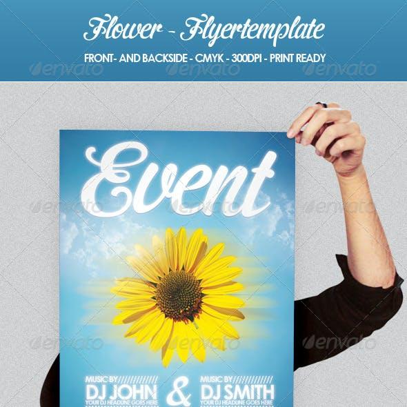Flower - Flyer Template