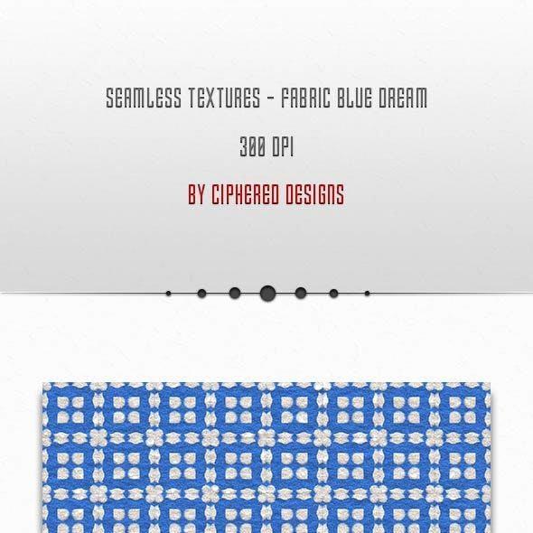 Seamless Textures - Fabric Blue Dream