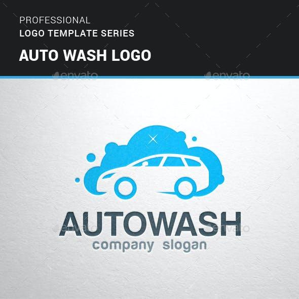 Auto Wash Logo Template