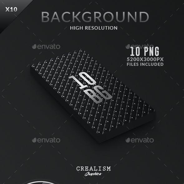 10 Black Prestige Backgrounds  | Collection 5K