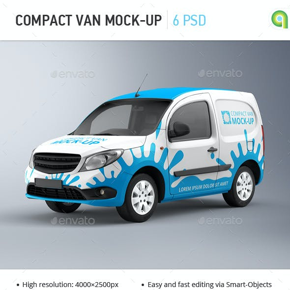 Compact Van Mock-up