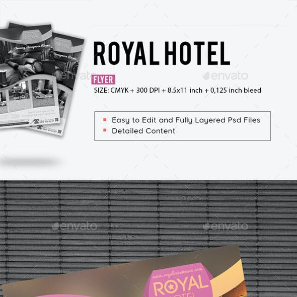 Royal Hotel Flyer Template